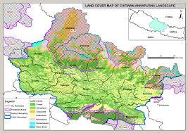 Pandas Map Landcover Map Of Chitwan Annapurna Landscape Wwf