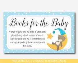 baby shower bring a book instead of a card poem teddy bring a book instead of a card inserts baby