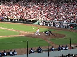 mazda zoom file the team at bat in mazda zoom zoom stadium jpg wikimedia