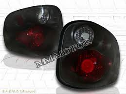 2002 ford f150 tail lights 2001 2003 ford f150 f 150 flareside tail lights dark smoke 2002 ebay