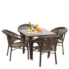 outdoor wicker dining table outdoor dining sets denise austin home