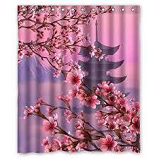 Cherry Blossom Curtains Cherry Blossom Bathroom Accessories