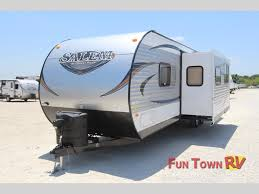 Blue Ridge And Cardinal Fifth Wheels By Forest River For Forest River Salem Bunkhouse Travel Trailers So Many Floorplans
