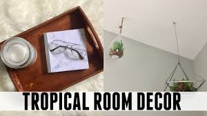 diy tropical room decor easy and quick youtube