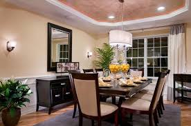 Tray Ceiling Dining Room - 20 gorgeous dining room design ideas