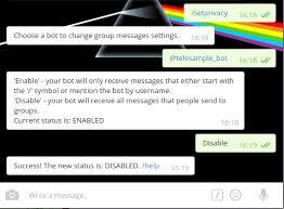 how do you send a telegram github topkecleon telegram bot bash telegram bot written in bash