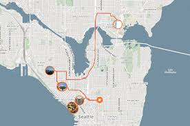Seattle Tourist Map by Day Trip To Seattle One Day Itinerary My Suitcase Journeys