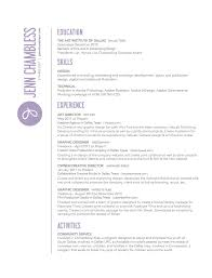 Resume Template For Kids Custom Resume Templates