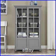 Barrister Bookcases With Glass Doors 514 Shelf Barrister Bookcase Display Cabinet Sliding Glass Doors