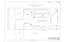 nano brewery floor plan this size requirement and the amount of logistical traffic necessary