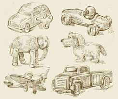 antique toys royalty free cliparts vectors and stock