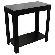 End Table Black 24 Ore International Target