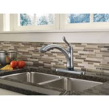 delta faucet 4353t ar dst linden arctic stainless pullout spray