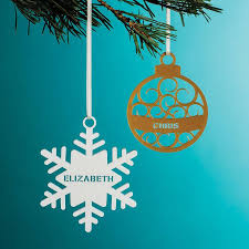 best 25 personalised tree decorations ideas on