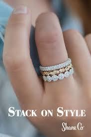 engraved stackable rings wedding rings stackable wedding rings thin stackable birthstone