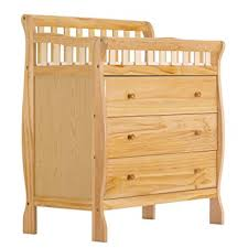 dream on me changing table and dresser amazon com dream on me marcus changing table and dresser natural