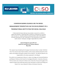 cr it lyonnais si e social european works councils and se works pdf available