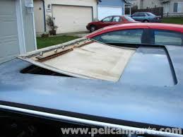 mercedes benz w123 sunroof repair w123 1977 1985 pelican