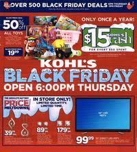 kohls kitchenaid mixer black friday kohl u0027s black friday 2014 ad scan