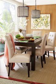 Pier One Dining Room Chairs Furnitures Fill Your Dining Room With Pretty Parsons Chairs For