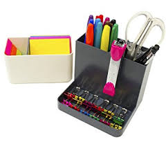 Desk Clips Amazon Com Stylio Desk Organizer Desktop Caddy Pencil Holder