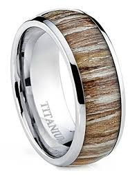 hypoallergenic metals for rings titanium ring for men strong hypoallergenic metal zebra rosewood