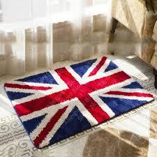 Englang Flag Nicerug British Flag Rug England Flag Non Slip Water Absorbing Rug