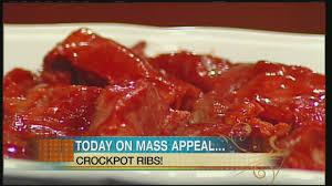 mass appeal crock pot country style ribs u0026 roasted cauliflower