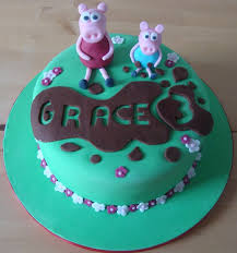 George Pig Cake Decorations 26 Best Peppa Pig Birthday Party Images On Pinterest Pig