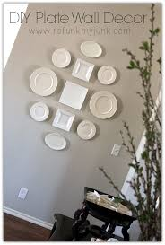 Diy Home Decor by Diy Home Decor Hanging Plates Refunk My Junk
