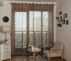 dmc473 sheer curtain panel 60 x 100 inch tall window treatments by