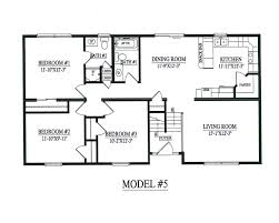 raised ranch model kintner modular homes inc nepa building plans