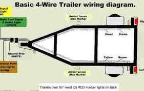 wiring diagram 4 flat trailer wiring diagram 7 blade trailer plug