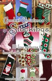 Crochet Christmas Stocking Tree Decoration by 10 Free Christmas Stockings Crochet Patterns Christmas Stocking
