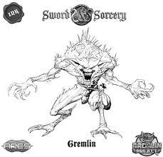 gremlins coloring pages enemies of the immortal heroes gremlins sword u0026 sorcery