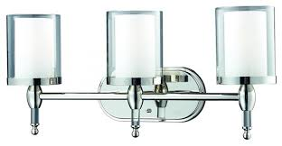 Bathroom Vanity Light Glass Clear Outside Glass Vanity - Bathroom vanity light fixture globes