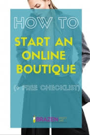 online boutique how to start an online boutique free checklist pdf