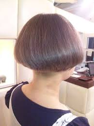 bobbed haircut with shingled npae the 25 best shaved nape ideas on pinterest shaved undercut
