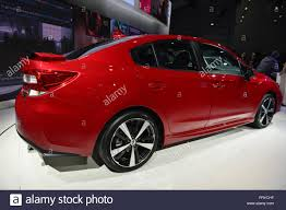 2017 subaru impreza sedan sport manhattan new york usa 23rd mar 2016 the 2017 subaru impreza