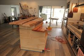 wood kitchen island live edge mystery wood kitchen island