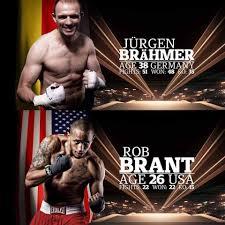 Light Heavyweight Champion Boxing Robert Brant Draws Jurgen Brahmer This Fall Minnesota