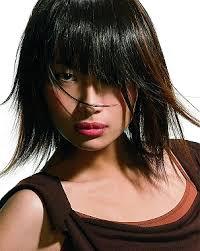 mid lenth beveled haircuts layered bob hairstyles