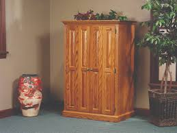 Amish Computer Armoire Amish Heirwood Computer Armoire Desk From Dutchcrafters