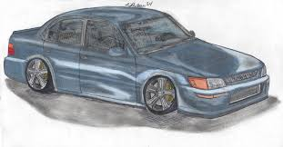 toyota supra drawing toyota draw something i ll freehand sketch your car sfldrifters