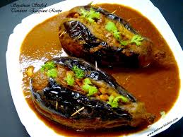 tandoori soyabean stuffed eggplant recipe restaurant style