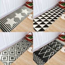 Black And White Bathroom Rugs Black And White Bathroom Rugs Home Design Ideas And Pictures