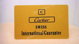 replica cartier warranty cards price 5 95 aftermarket cartier