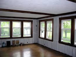 painting paneling ideas painting wood paneling before and after home interiror and