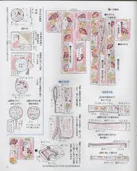 patron veste kimono segunda página de patrones para kimono femenino extraído de una