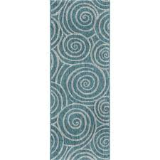 Aqua Outdoor Rug Buy Aqua Indoor Outdoor Rug From Bed Bath Beyond